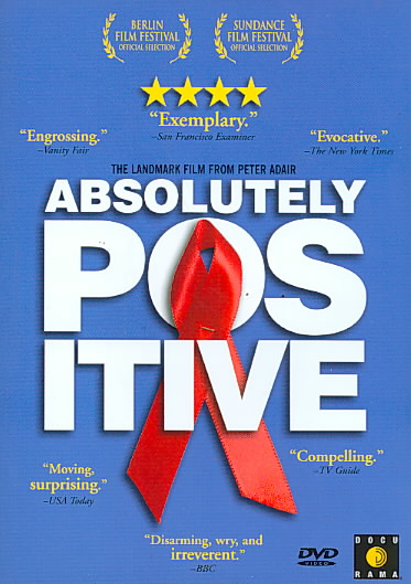 ABSOLUTELY POSITIVE BY ADAIR,PETER (DVD)